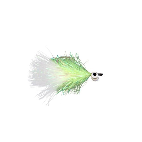 Isca Total Fly Cristal Minnow (tamanho 1/0)