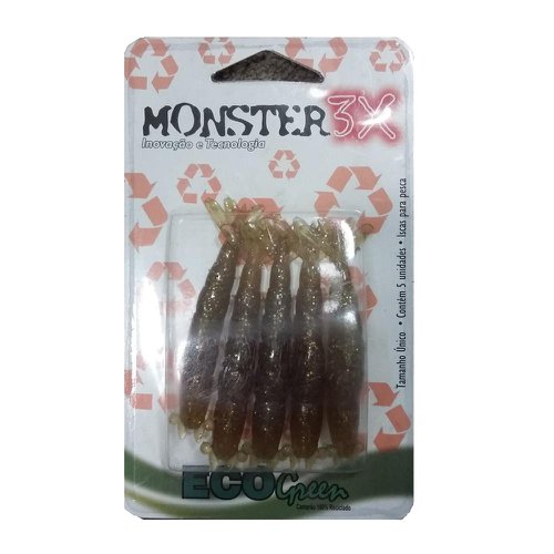 Isca Soft Monster 3X Eco Green 8.5cm