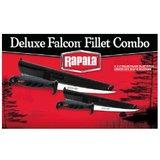 Combo Rapala Faca Fileteira Deluxe Falcon