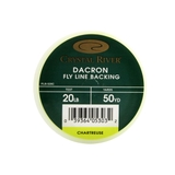 Linha Fly Backing Dracon Crystal River - Cor Verde