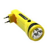 Lanterna Recarregável Western com 3 LEDS - EL-76N